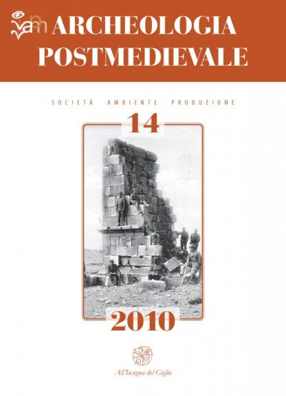 Archeologia Postmedievale, 14, 2010, copertina.