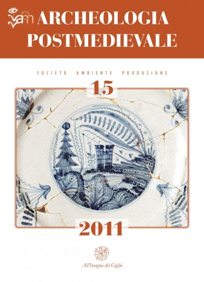 Archeologia Postmedievale, 15, 2011, copertina