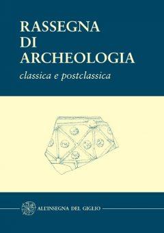rassegna di archeologia classica e postclassica 18B, copertina