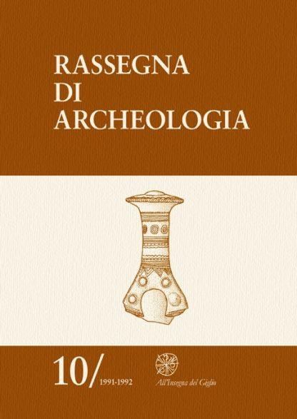 rassegna di archeologia 10, copertina