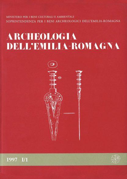 Archeologia dell'Emilia Romagna, 1997, I/1, copertina.