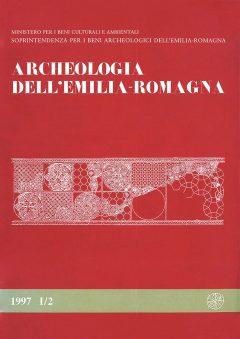 Archeologia dell'Emilia romagna, 1997, I/2, copertina.
