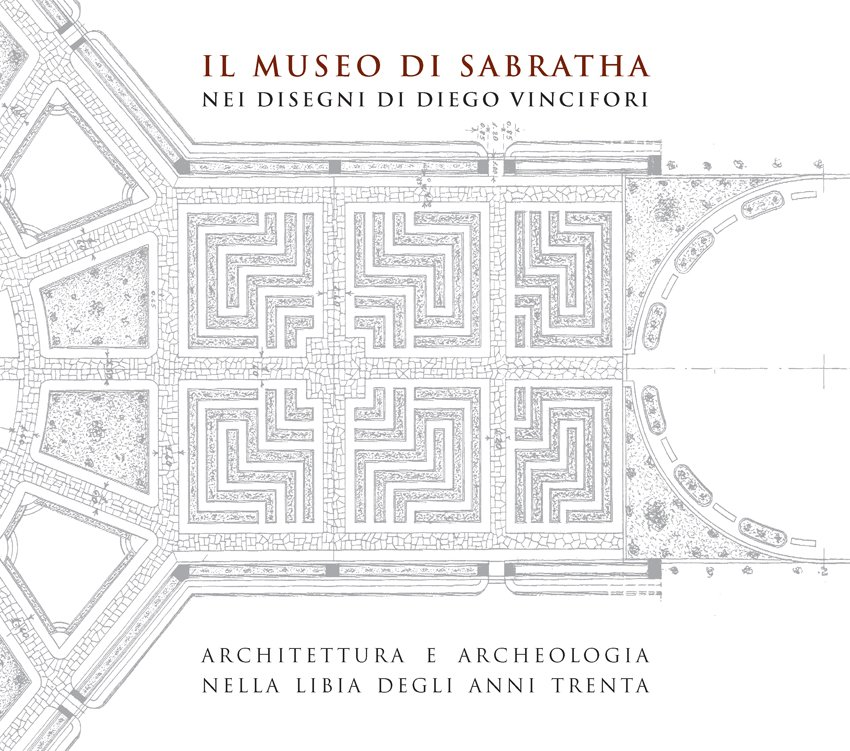 Il Museo di Sabratha, copertina.