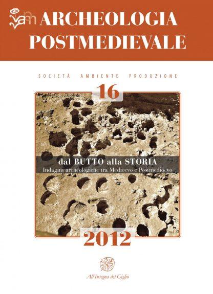 APM 16, 2012, copertina.