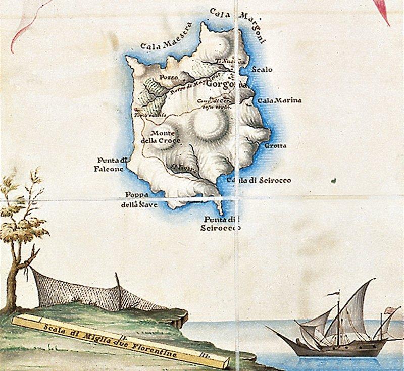 Porto Ferraio, copertina Trame nello spazio 4.
