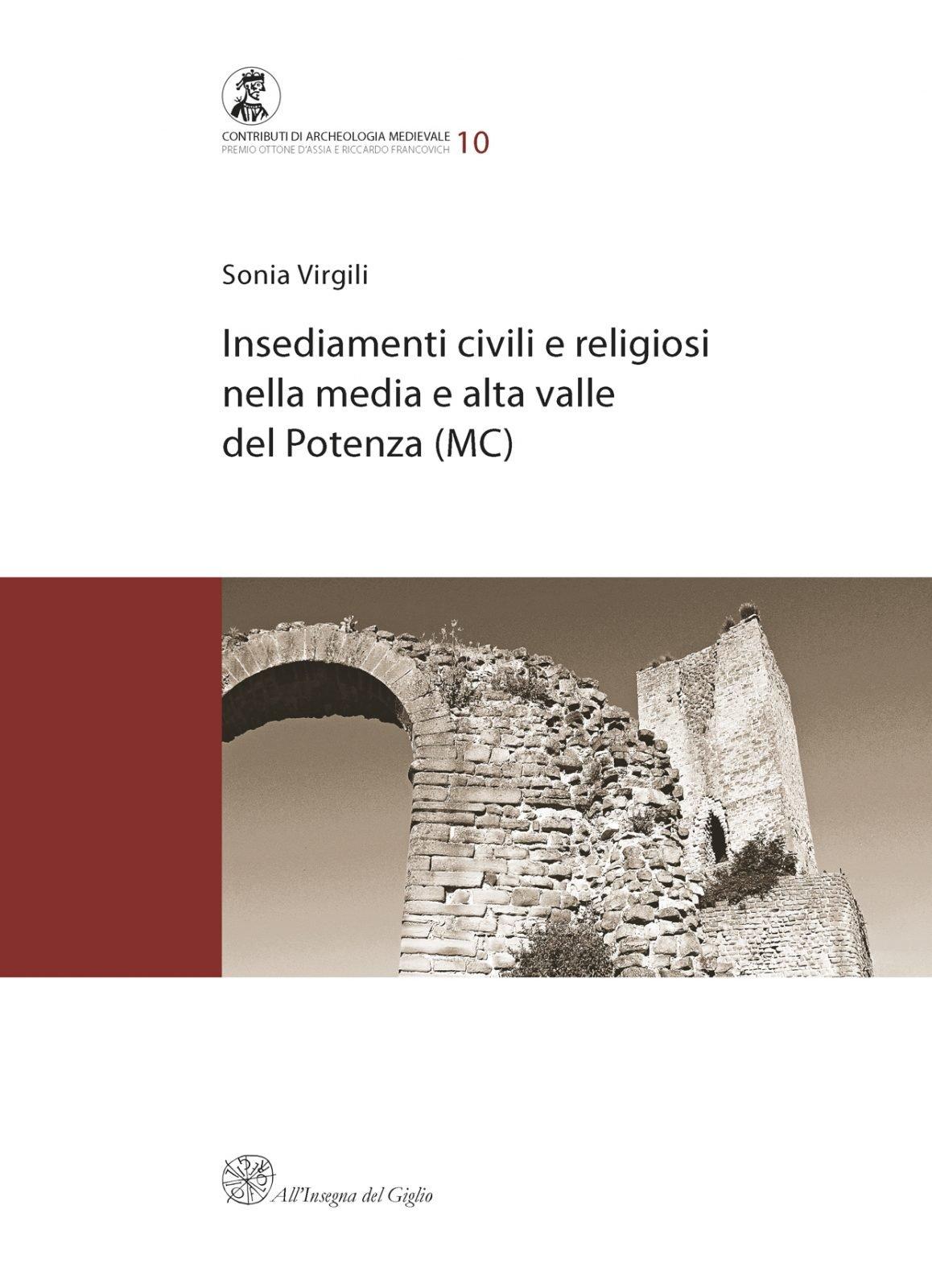 Insediamenti civili e religiosi, copertina.