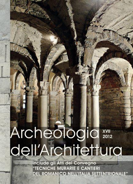 Archeologia dell'Architettura, XVII, 2012, copertina.