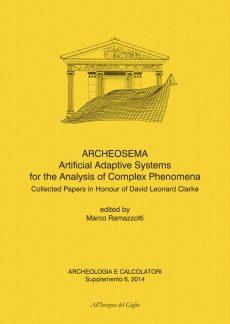Archeologia e Calcolatori, Supplemento 6, 2014. ARCHEOSEMA, copertina.