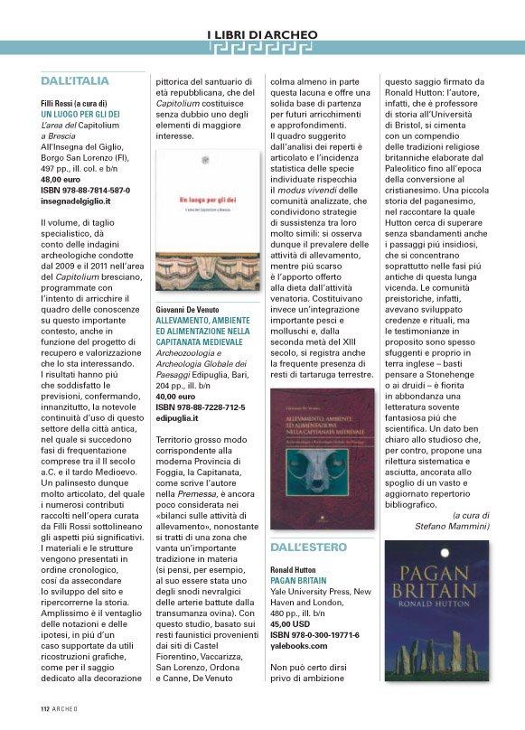 L'area del Capitolium a Brescia, recensione.