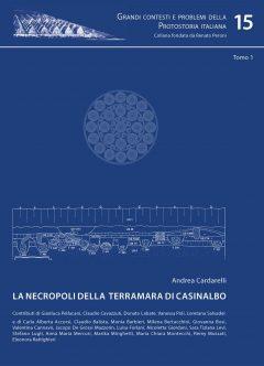 La necropoli della terramara di Casinalbo, tomo1, copertina.