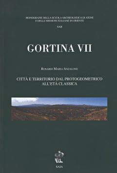 Gortina VII, copertina.