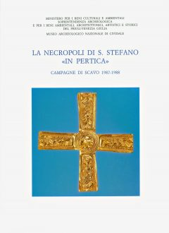 La necropoli di Santo Stefano in Pertica, copertina.