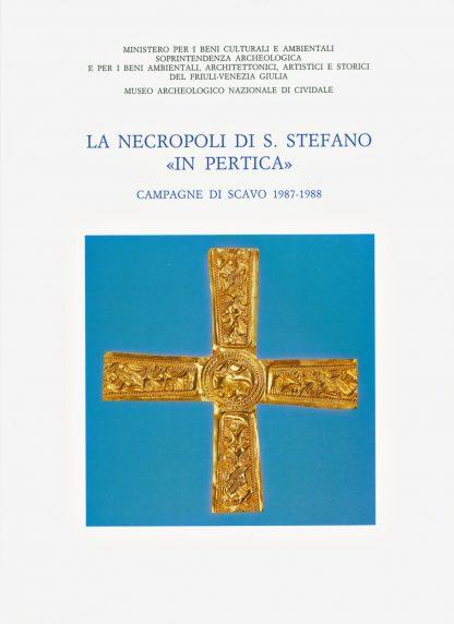 La necropoli di Santo Stefano in Pertica, copertina.
