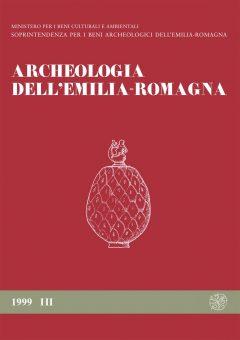 Archeologia dell'Emilia Romagna, 1999/III, copertina.