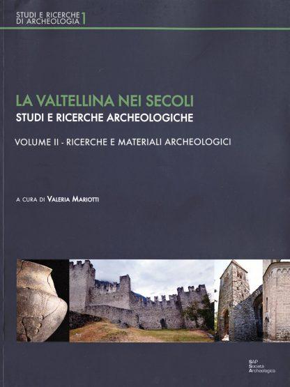 La Valtellina nei secoli, tomo 2. Copertina.
