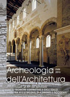 Archeologia dell'Architettura, 18, 2013, copertina.
