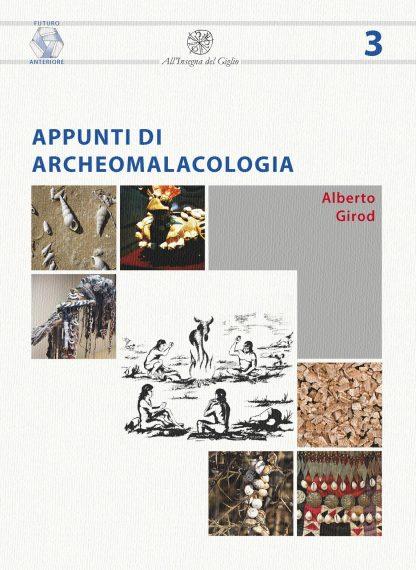 Appunti di archeomalacologia, copertina.