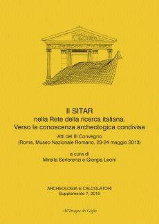 Archeologia e Calcolatori, Supplemento 7, 2015, copertina.