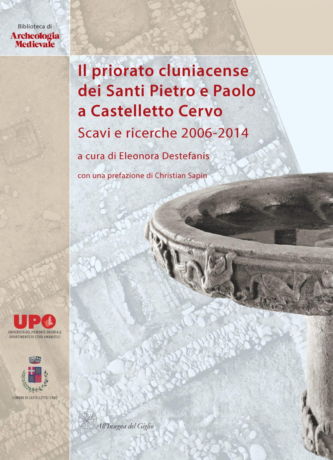 Il priorato cluniacense dei Santi Pietro e Paolo a Castelletto Cervo, copertina.