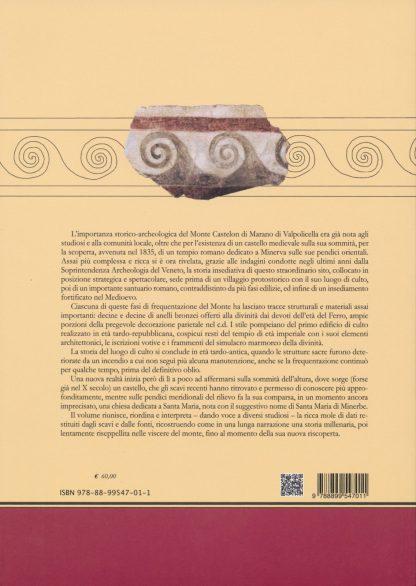 Archeologia e storia sul Monte Castelon di Marano di Valpolicella, retro copertina.