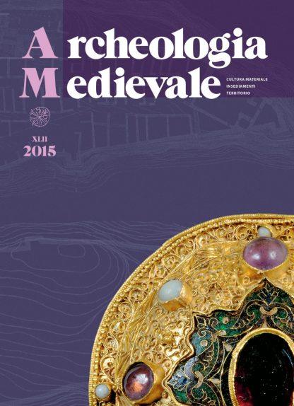 Archeologia Medievale, XLII, 2015, copertina.