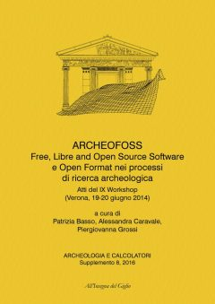 Archeologia e Calcolatori, Supplemento 8/2016, ArcheoFoss, copertina.