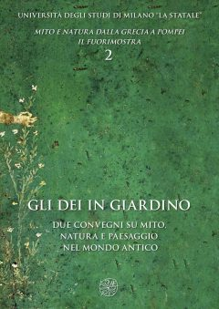 Gli dei in giardino, copertina.