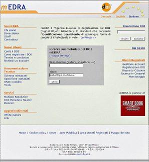 DOI, Document Object Identifier, agenzia mEDRA.