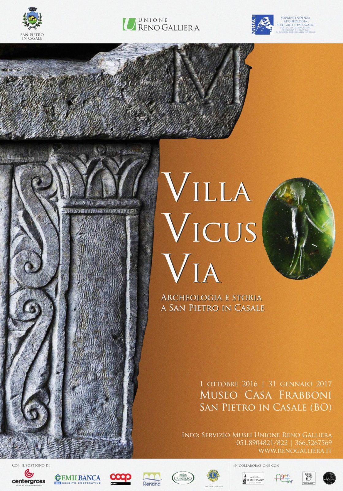 Manifesto, Villa Vicus Via.