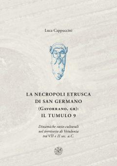 La necropoli etrusca di San Germano, copertina.