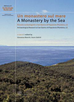 Un monastero sul mare, copertina.