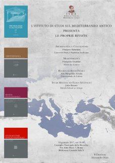 Presentazione riviste ISMA, locandina.