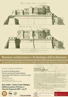 Restauro architettonico e Archeologia dell'architettura, manifesto.