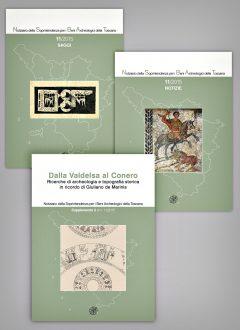 Notiziario Toscana 2015, Saggi, Notizie e Supplemento, copertine.