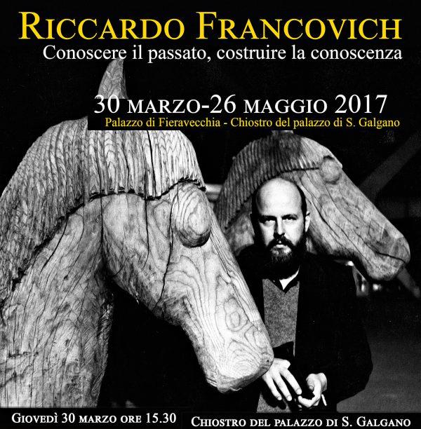 Riccardo Francovich, 2017.