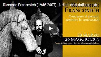 Riccardo Francovich, 10 anni dalla scomparsa, video.
