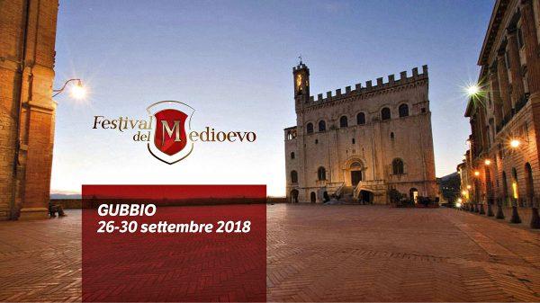 Il Festival del Medioevo a Gubbio dal 26 al 30 settembre 2018