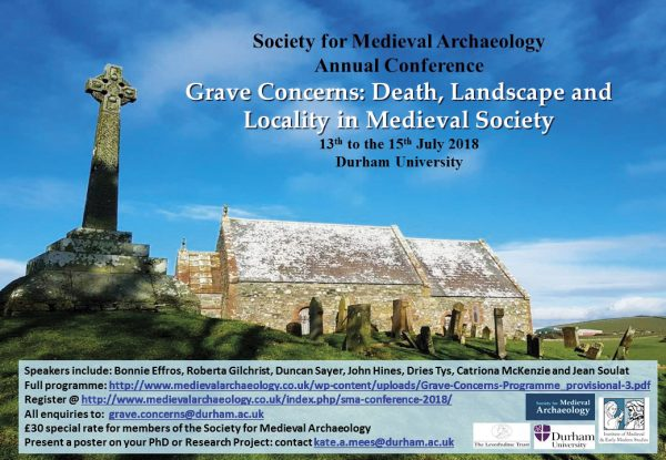 Grave Concerns: Death, Landscape, and Locality in Medieval Society