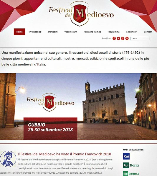 Festival del Medioevo, Gubbio.