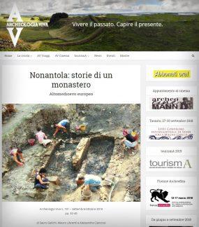 Nonantola, Archeologia Viva.
