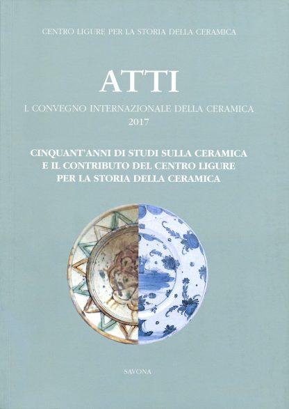 Atti ceramica, 50, 2017, copertina.