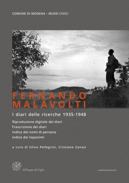 Fernando Malavolti. I diari delle ricerche - eISBN 9788878148857, copertina.
