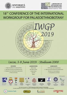 Locandina, IWGP, Lecce 2019.