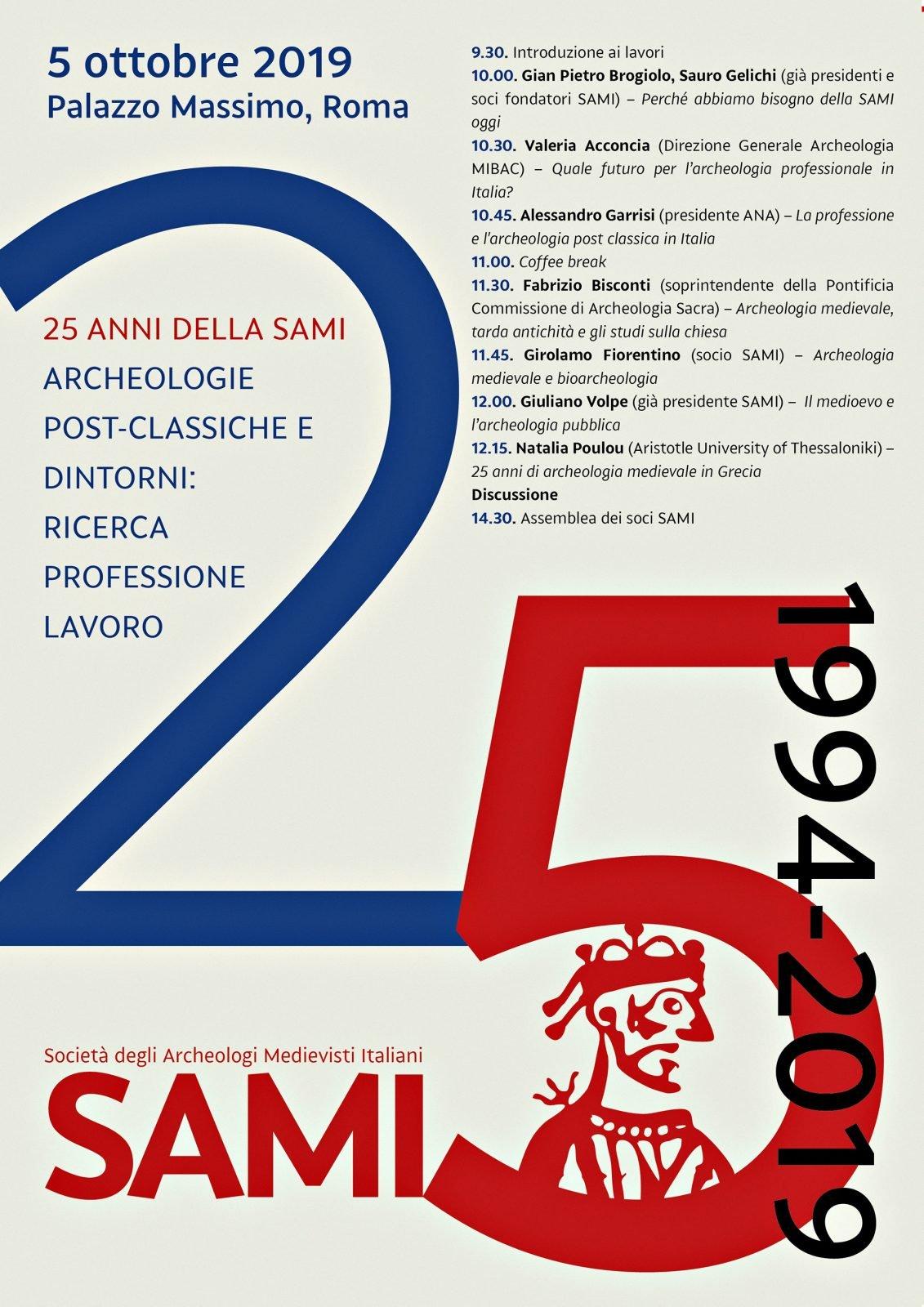25 anni della SAMI