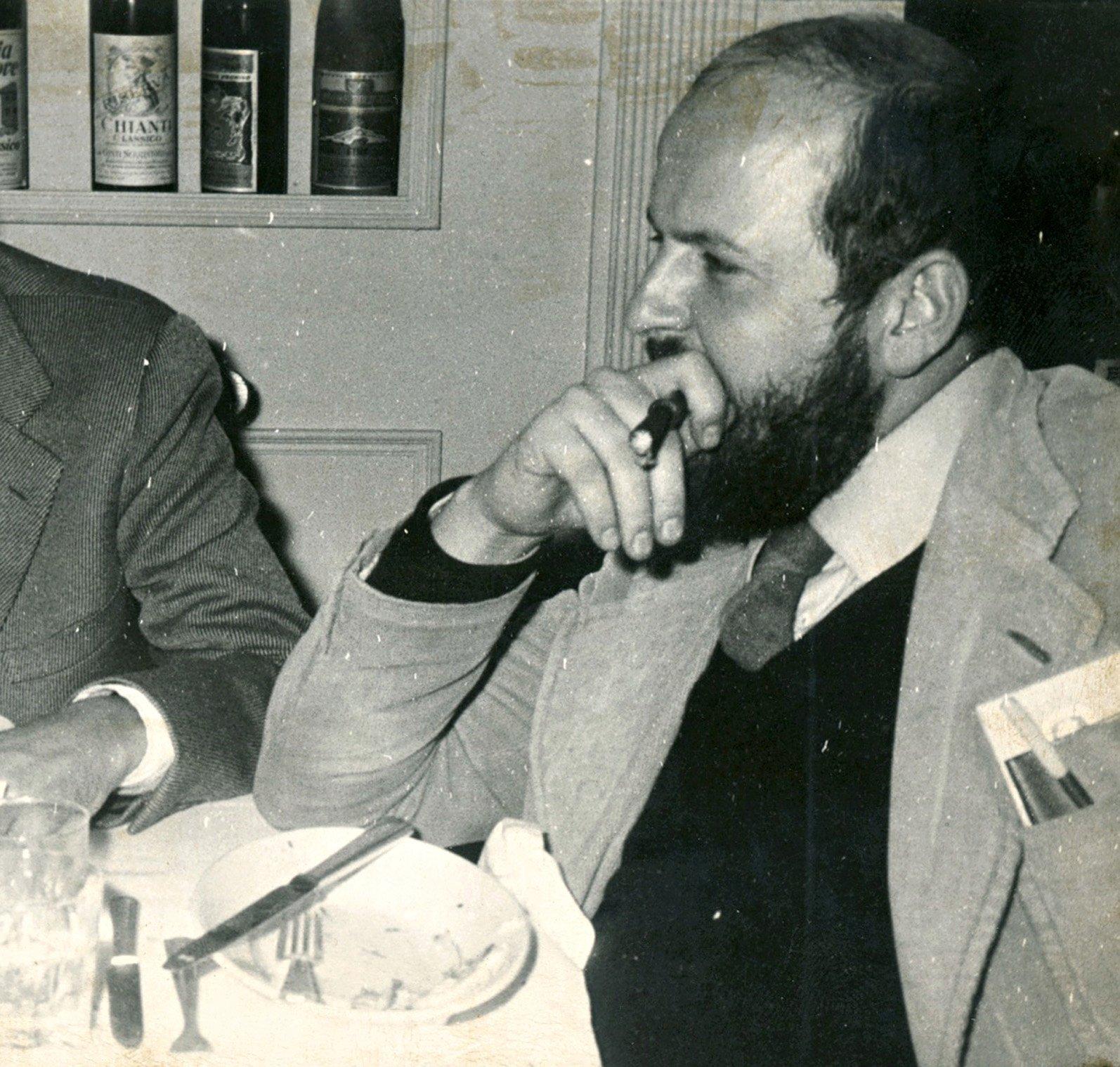 Riccardo Francovich, Firenze, 1973.