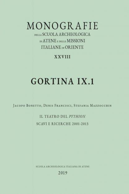 Gortina IX.1, copertina.
