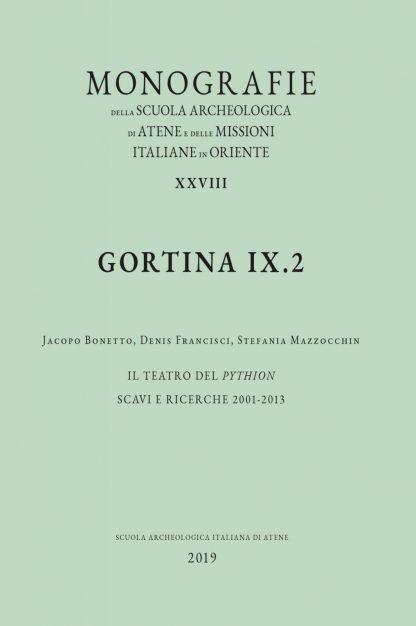Gortina IX.2, copertina.
