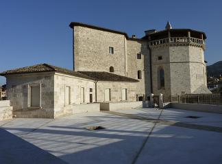 Il Forte Malatesta ad Ascoli Piceno che ospita il Museo dell'Alto Medioevo.
