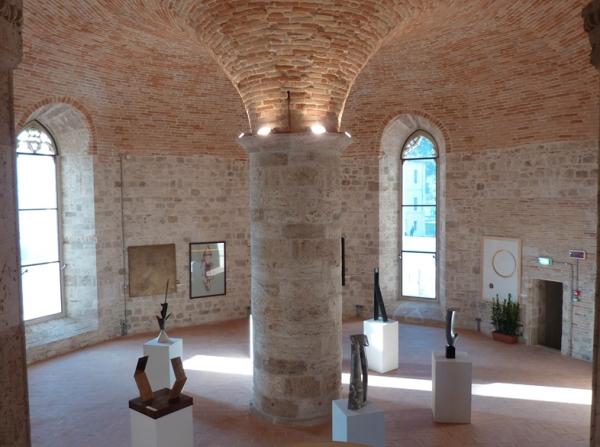 Uno degli ambienti del Forte Malatesta di Ascoli Piceno.