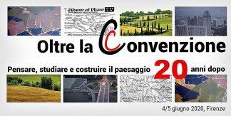 Oltre la convenzione, pensare, studiare e costruire il paesaggio. 20 anni dopo - logo